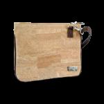 Korktasche, Kork Tasche Bijou, clutch, Nature Cork \ Brown, side