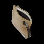 Korktasche, Kork Tasche Bijou, clutch, Nature Cork \ Brown, open