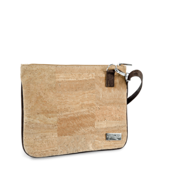 Korktasche, Kork Tasche Bijou, clutch, Nature Cork \ Brown, teaser