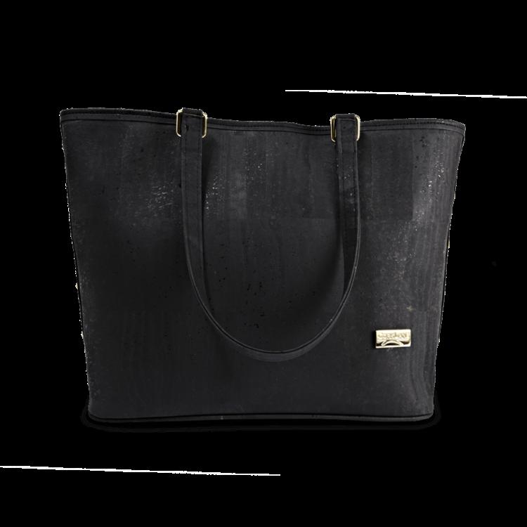Korktasche, Kork Tasche Gallant, Black, front