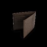 Korkportemonnaie, Kork Portemonnaie Wallet S, Brown, back