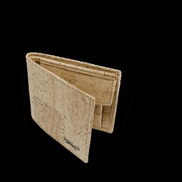 Korkportemonnaie, Kork Portemonnaie Men's Wallet M, Nature Cork, teaser