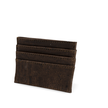 Korkportemonnaie, Kork Portemonnaie Card Holder, Brown, teaser