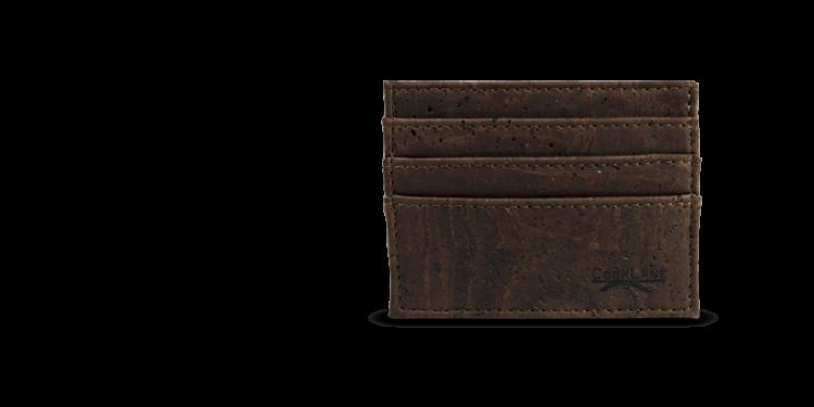 Korkportemonnaie, Kork Portemonnaie Card Holder, Brown, teaser