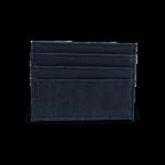 Korkportemonnaie, Kork Portemonnaie Card Holder,Navy Blue, back