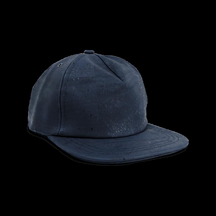 Korkhut, Kork Hut Skate Cap, Navy Blue, front