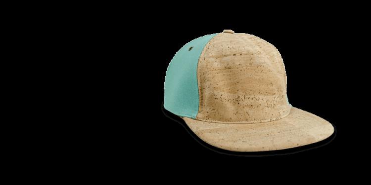 Korkhut, Kork Hut Skate Cap, Nature Cork \ Turquoise, teaser