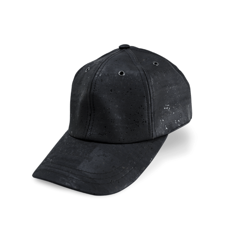 Korkhut, Kork Hut Baseball Cap, Black, side