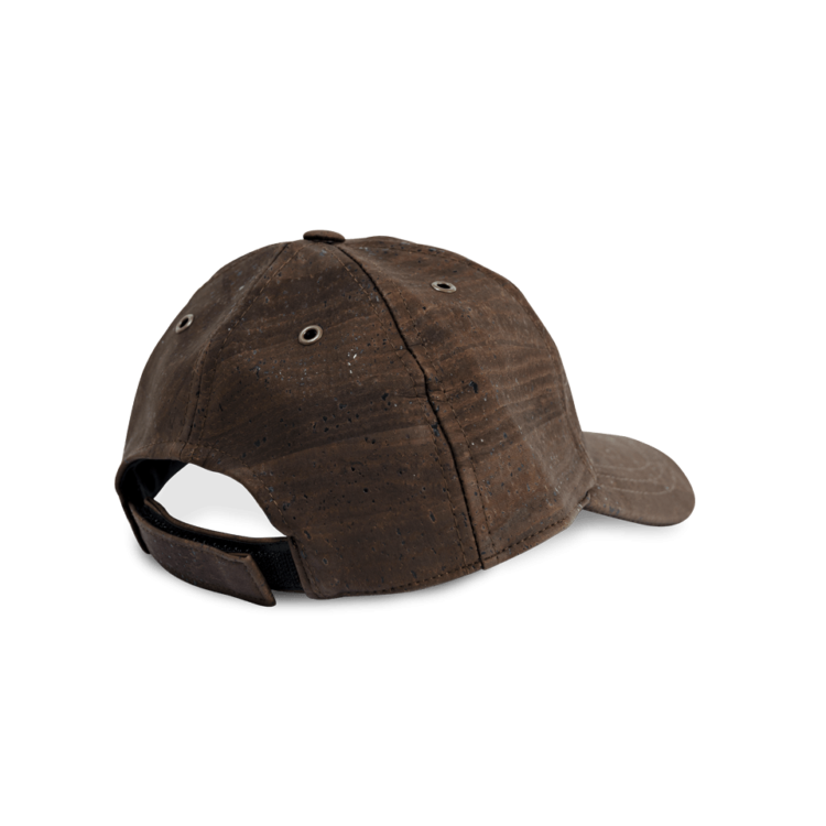 Korkhut, Kork Hut Baseball Cap, Brown, back