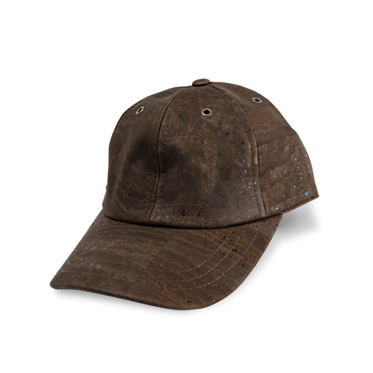 Korkhut, Kork Hut Baseball Cap, Brown, side