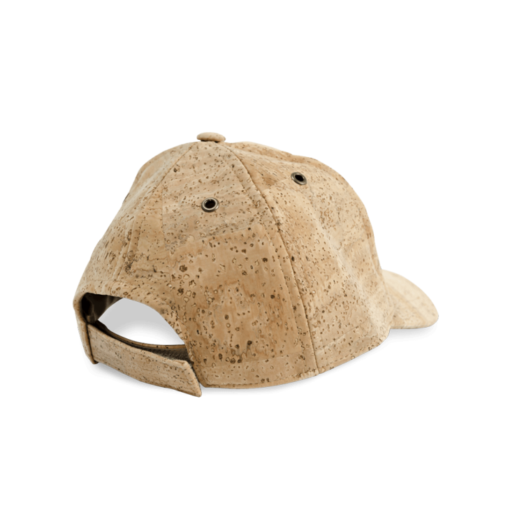 Korkhut, Kork Hut Baseball Cap, Nature Cork, back