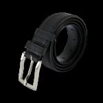 Korkgürtel, Kork Gürtel Drift 35mm, Black, side
