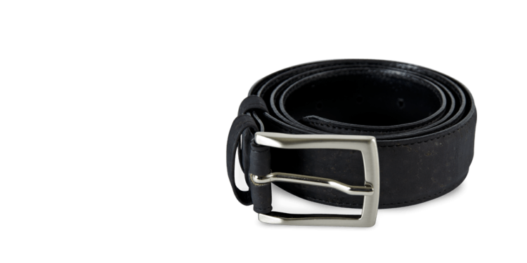 Korkgürtel, Kork Gürtel Drift 35mm, Black, teaser