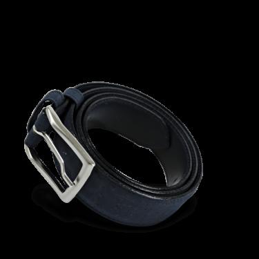 Korkgürtel, Kork Gürtel Drift 35mm, Navy Blue, teaser