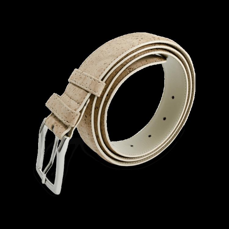 Korkgürtel, Kork Gürtel Drift 35mm, Nature Cork, side