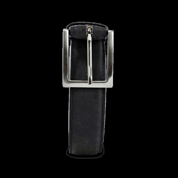 Korkgürtel, Kork Gürtel Drift 30mm, Black, front