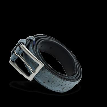 Korkgürtel, Kork Gürtel Drift 30mm, Blue, teaser