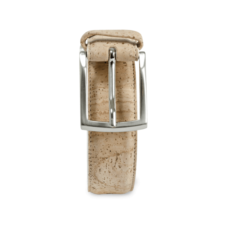 Korkgürtel, Kork Gürtel Drift 30mm, Nature Cork, front