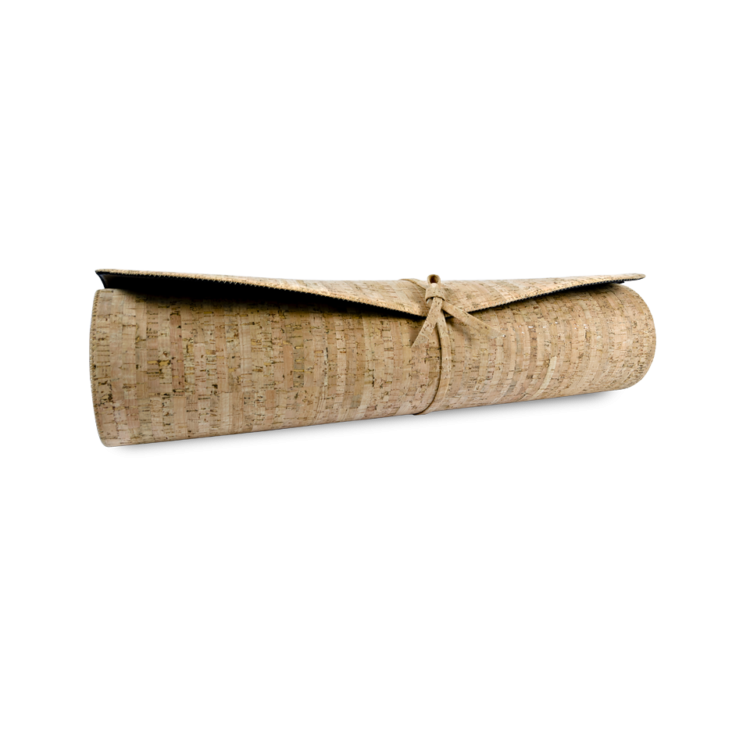 Kork Yogamatte , Accessoires, Kork Yoga Mat, Striped Cork, horizontal