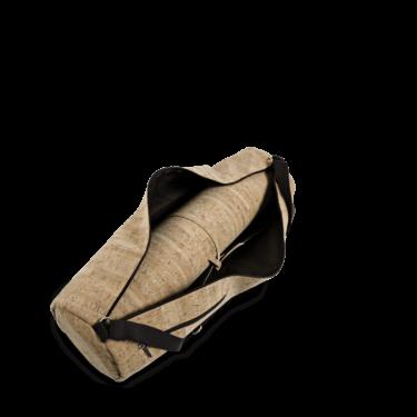 Kork Tasche Matte, Korktasche, Yogaset , Accessoires, Kork Yoga Set, Striped Cork, teaser